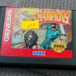 Eternal Champions for Sega Genesis, at a bargain!